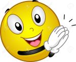 14343652-Illustration-Featuring-a-Clapping-Smiley-Stock-Illustration-emoticons